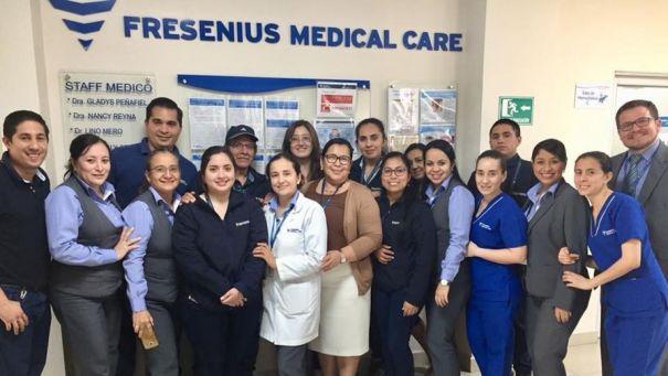 Fresenius Manadiálisis Buena Vista recibe certificación del 100% de Licenciamiento